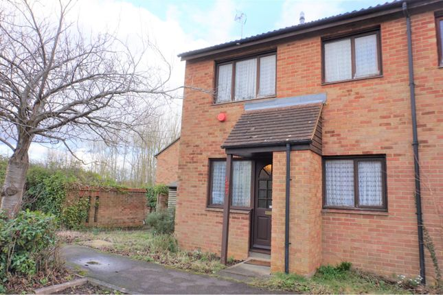 Thumbnail 1 bed terraced house for sale in Two Mile Ash, Milton Keynes
