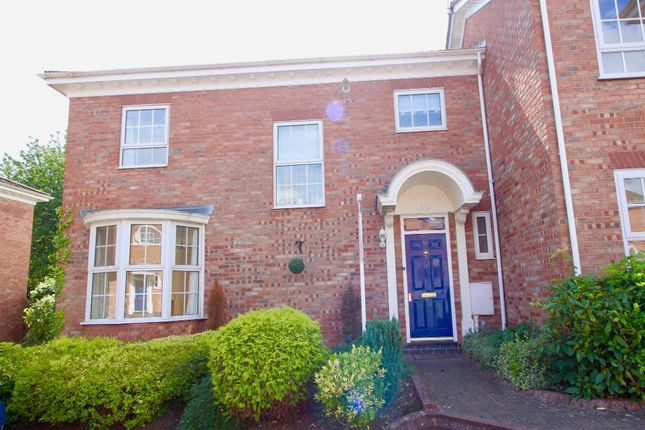 Thumbnail Town house to rent in Brookfield Court, Stone, Staffordshire