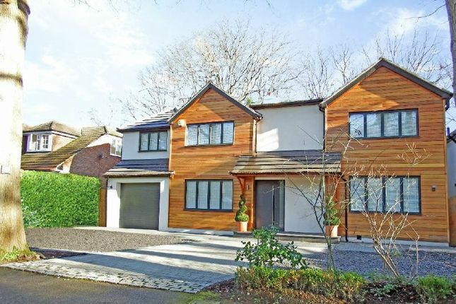 Thumbnail Detached house for sale in Norfolk Farm Road, Pyrford, Woking