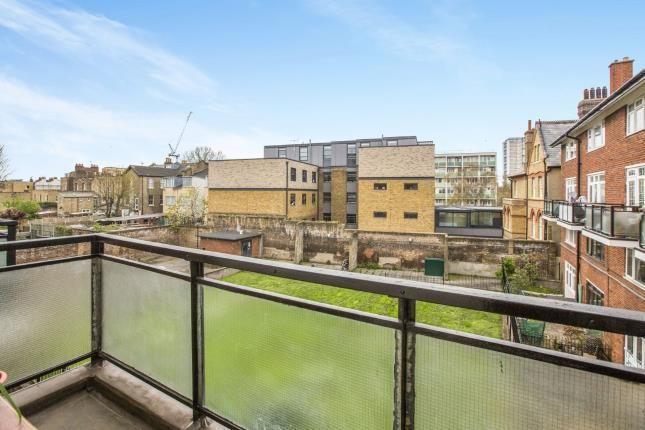 Balcony of Barnes Street, London E14