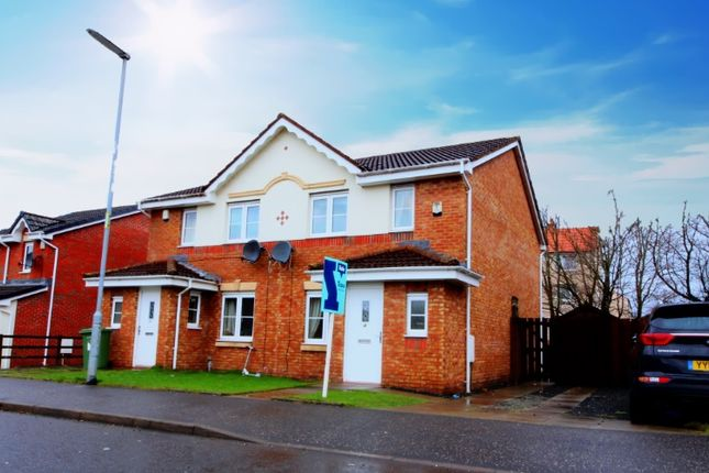 Thumbnail Semi-detached house for sale in Newhouse Road, Glasgow