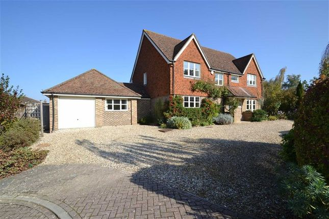 Thumbnail Detached house to rent in The Green, Kintbury, Hungerford