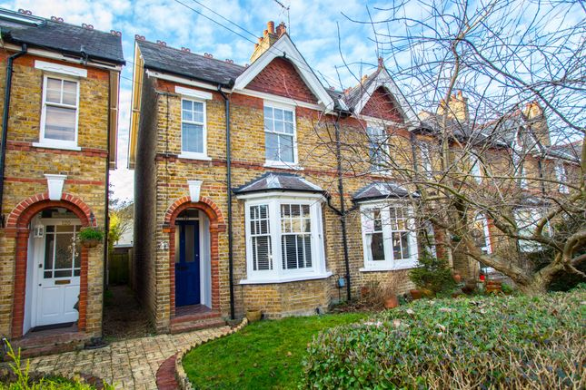 Thumbnail Semi-detached house to rent in Duncombe Road, Hertford