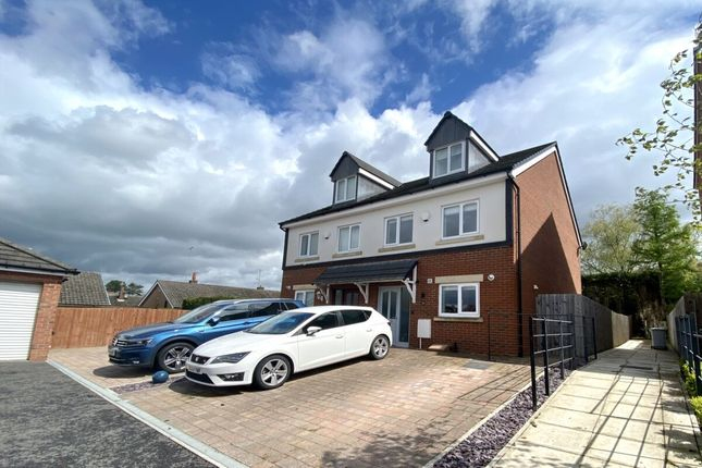 Thumbnail Semi-detached house for sale in Imperial Court, Nantwich