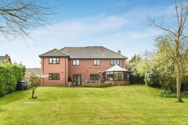 Thumbnail Detached house for sale in Richmond Close, Honingham, Norwich