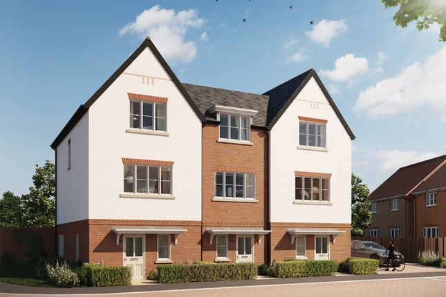 Thumbnail End terrace house for sale in Abbey Barn Lane, High Wycombe