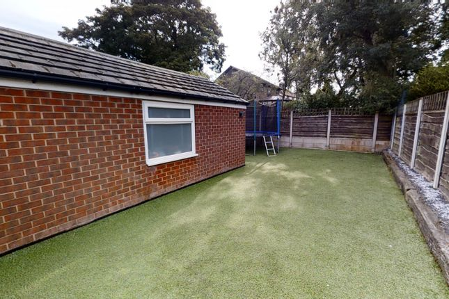 Rear Garden of Peveril Close, Whitefield M45