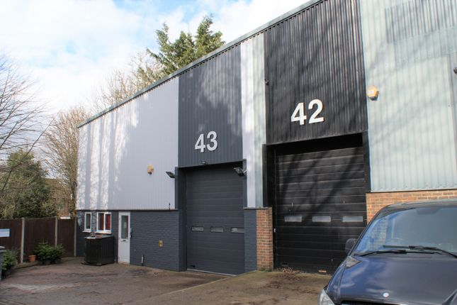 Thumbnail Industrial for sale in Unit 43, Bookham Industrial Estate, Leatherhead