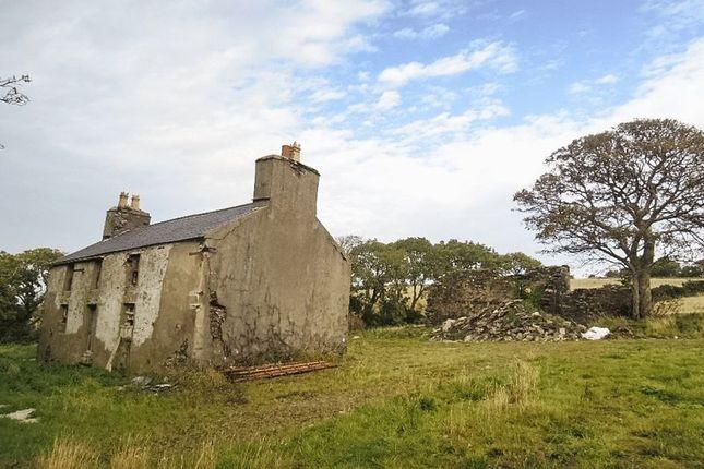 Thumbnail Land for sale in Bulltrooan, Lhoobs Road, Foxdale