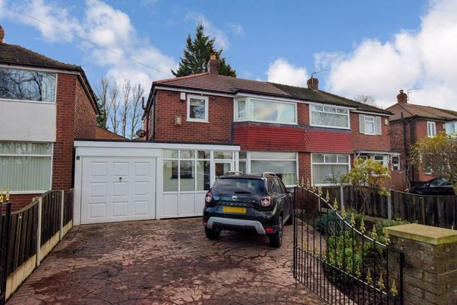 Thumbnail Semi-detached house for sale in Thatch Leach Lane, Whitefield, Manchester