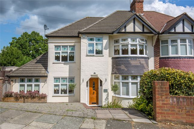 Thumbnail Semi-detached house for sale in Dene Road, East Barnet