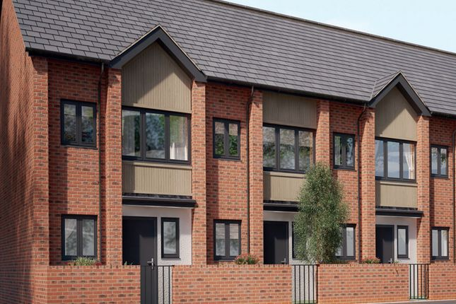 Thumbnail Mews house for sale in Off Wharncliffe Road, Loughborough