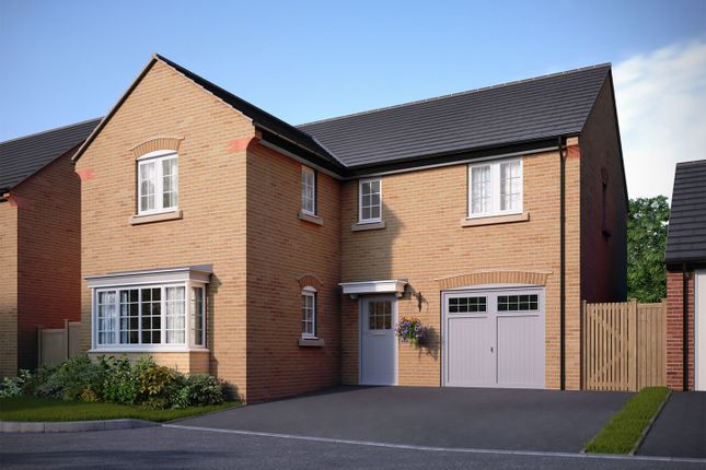 """Thumbnail Detached house for sale in """"The Sharnbrook"""" at Bedford Road, Great Barford, Bedford"""