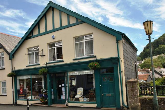Thumbnail Retail premises for sale in Lee Road, Lynton, Devon
