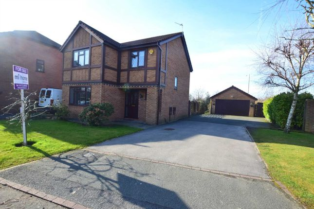 Thumbnail Detached house for sale in Medlar Close, Wesham, Preston