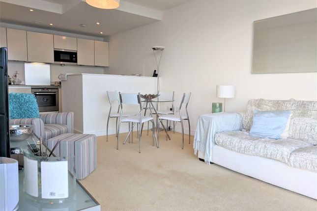 Living Room of Watermark, Ferry Road, Cardiff CF11