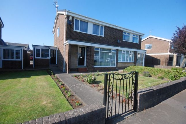 3 bed semi-detached house for sale in Lyndhurst Road, Ashington NE63