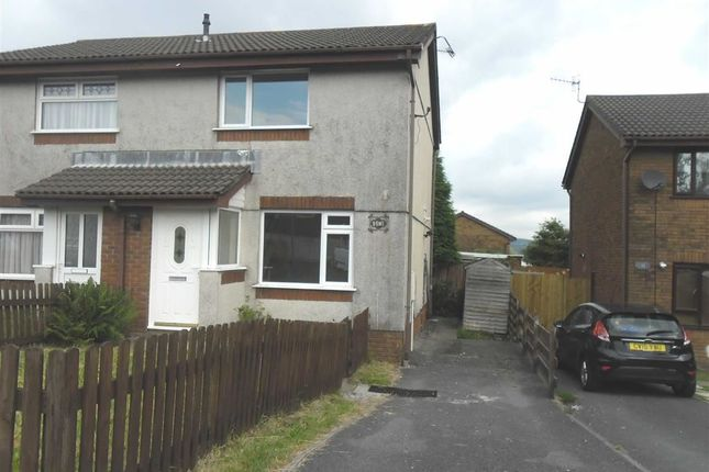 2 bed semi-detached house for sale in Heol Elfed, Llansamlet, Swansea