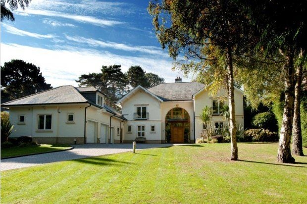 Thumbnail Detached house for sale in Bury Road, Branksome Park, Poole
