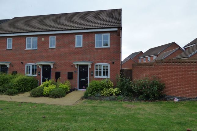 Thumbnail Terraced house for sale in Baum Crescent, Stoney Stanton, Leicester