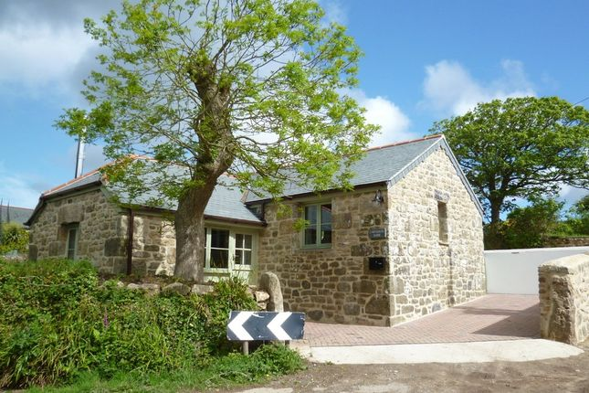Thumbnail Barn conversion for sale in Carnaquidden, Newmill, Penzance