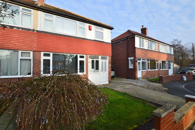 Thumbnail Semi-detached house to rent in Foxwood Close, Leeds
