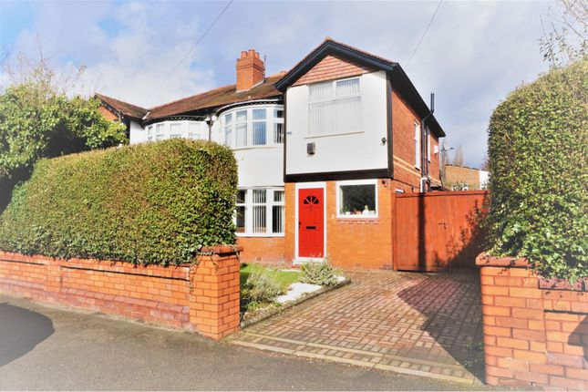 Thumbnail Semi-detached house for sale in Abberton Road, West Didsbury