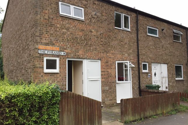 Thumbnail End terrace house to rent in Watergall, Peterborough
