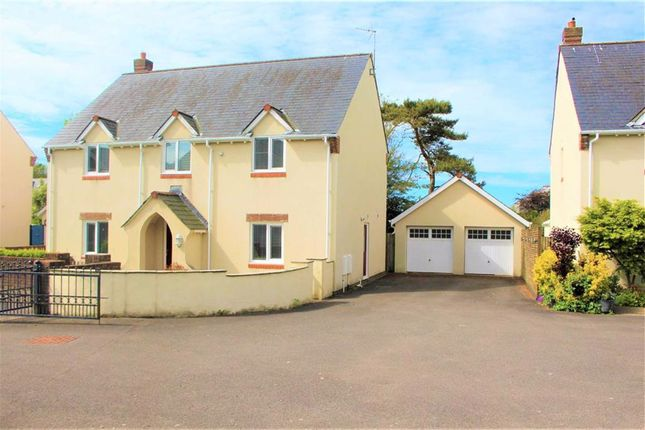 Thumbnail Detached house for sale in Burrows Close, Southgate, Swansea