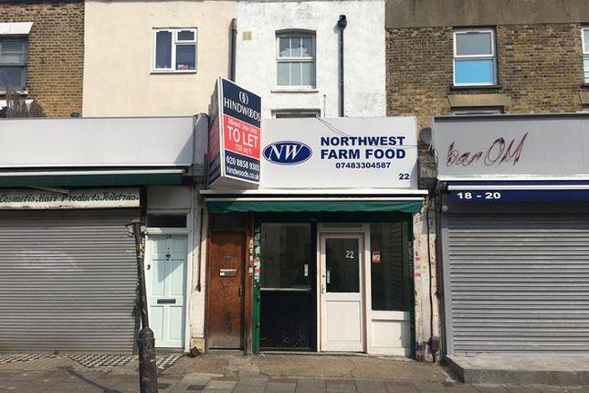 Thumbnail Retail premises to let in 22 Choumert Road, Peckham, London