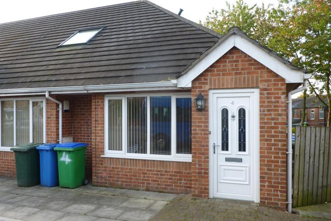 Thumbnail Semi-detached bungalow to rent in Norfolk Gardens, Heywood
