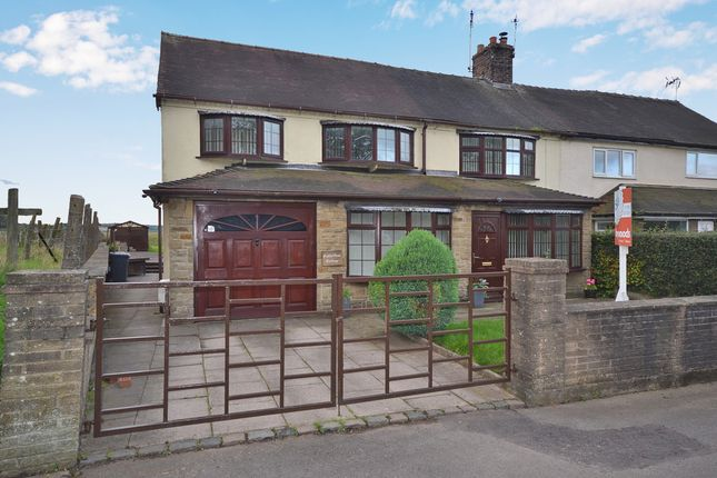 Thumbnail Semi-detached house for sale in Honeywall Lane, Madeley Heath, Crewe