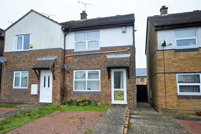 Thumbnail Semi-detached house for sale in Beazley Court, Ashford, Kent
