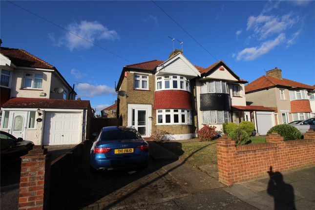 Thumbnail Semi-detached house to rent in Okehampton Crescent, Welling, Kent