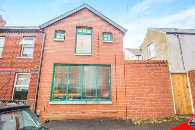 Thumbnail Property for sale in Florentia Street, Roath, Cardiff