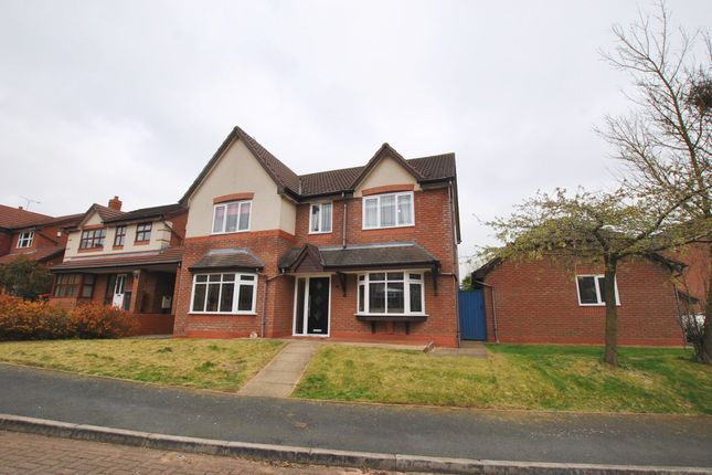 Thumbnail Detached house for sale in Chancery Park, Priorslee, Telford, Shropshire