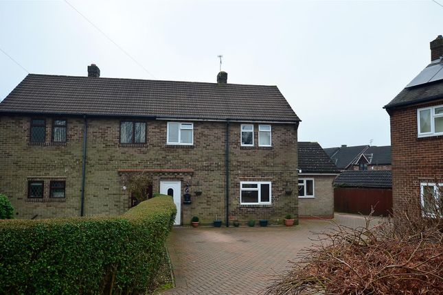 Thumbnail Semi-detached house for sale in Maple Grove, Allestree, Derby