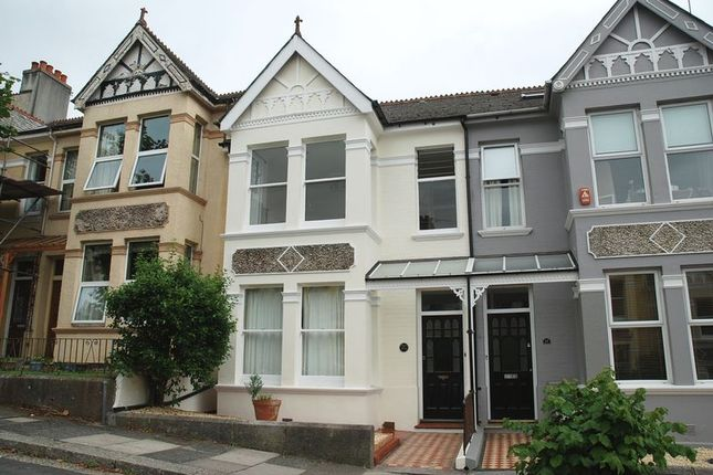 Thumbnail Terraced house to rent in Edgcumbe Park Road, Plymouth