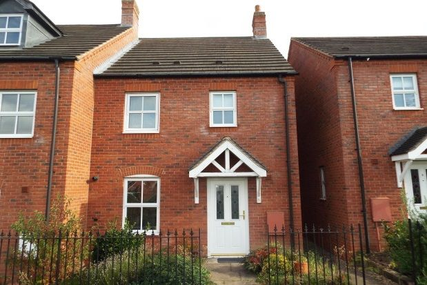 Thumbnail Property to rent in Parnell Avenue, Lichfield