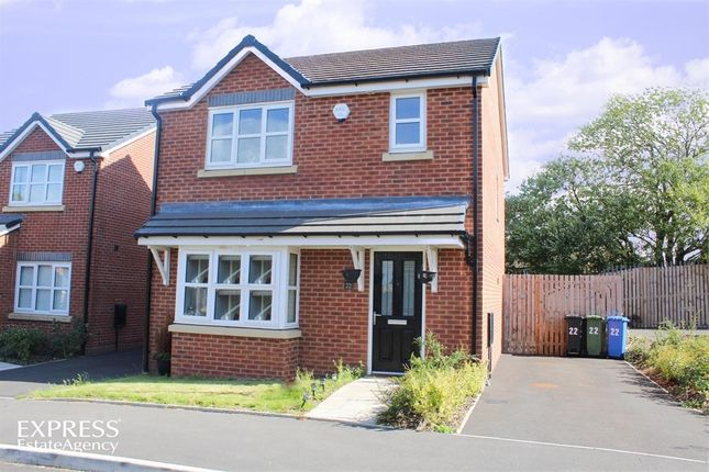 Thumbnail Detached house for sale in Rowan Crescent, Hyde, Greater Manchester
