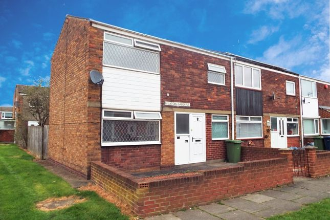 Thumbnail Terraced house to rent in Heaton Gardens, South Shields