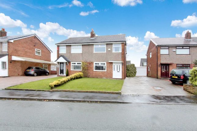 Thumbnail Semi-detached house to rent in Devonport Crescent, Royton, Oldham