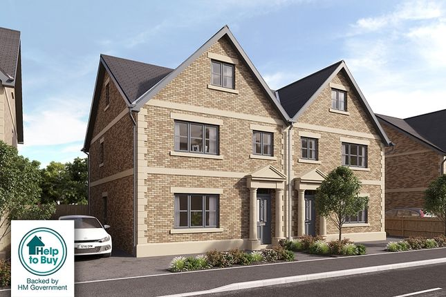 Thumbnail Semi-detached house for sale in The Holt, Scotby, Carlisle
