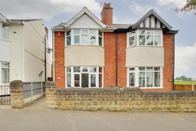 Thumbnail Semi-detached house for sale in Piccadilly, Bulwell, Nottinghamshire