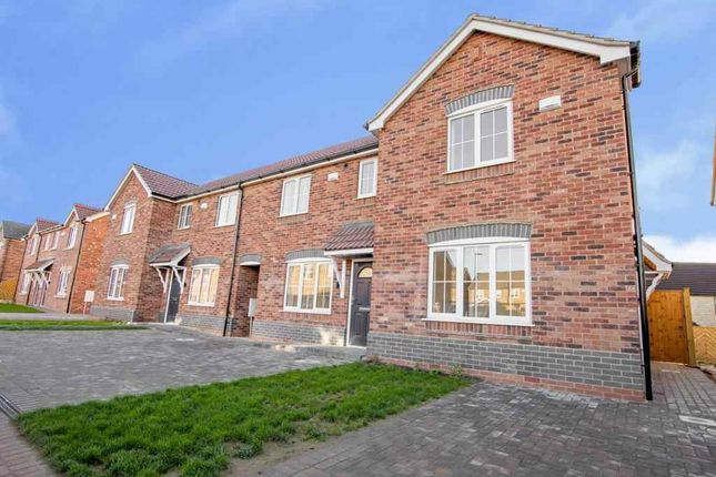 Thumbnail End terrace house for sale in Bilberry Close, Scunthorpe