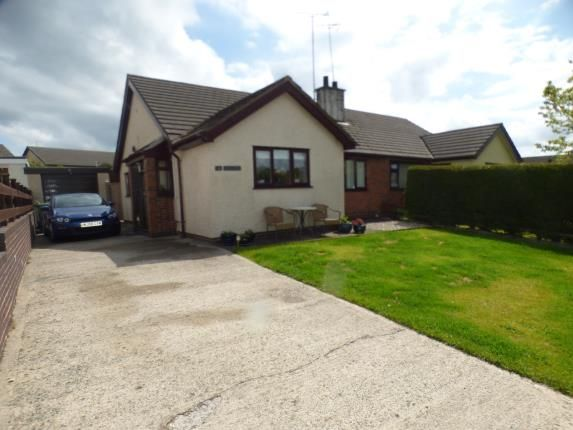 2 bed bungalow for sale in Ty'n Coed Uchaf, Llangefni, Anglesey, North Wales LL77