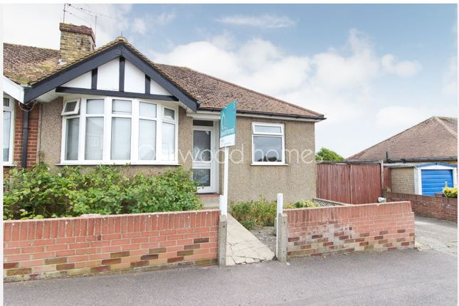 Thumbnail Semi-detached bungalow to rent in Roman Road, Ramsgate