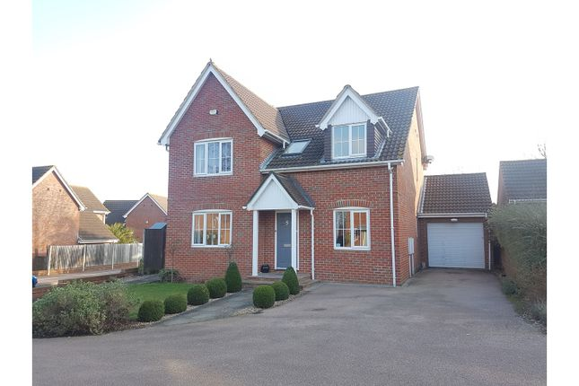Thumbnail Detached house for sale in Gatekeeper Chase, Gillingham