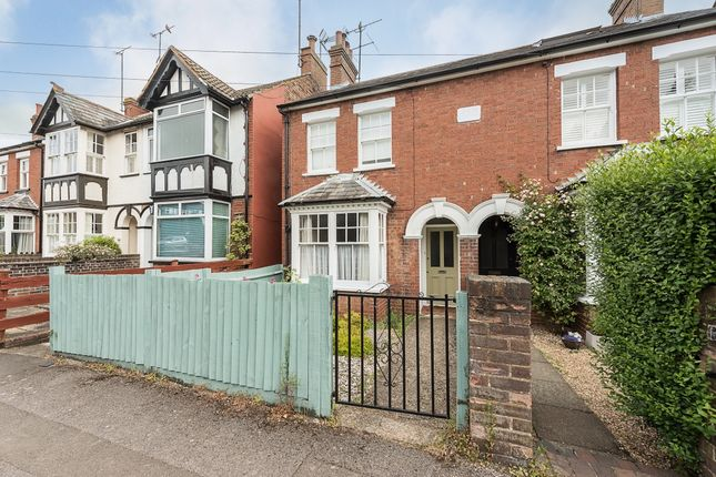 Thumbnail Terraced house to rent in Willoughby Road, Harpenden