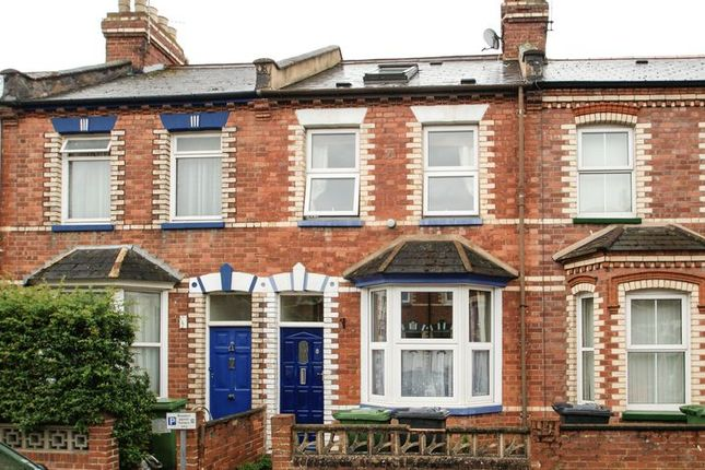 Thumbnail Terraced house to rent in Cornwall Street, St. Thomas, Exeter